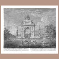 Pamiątka Chwalebnego Powrotu Woyska Narodowego…, Z. Vogel, 1809 r.